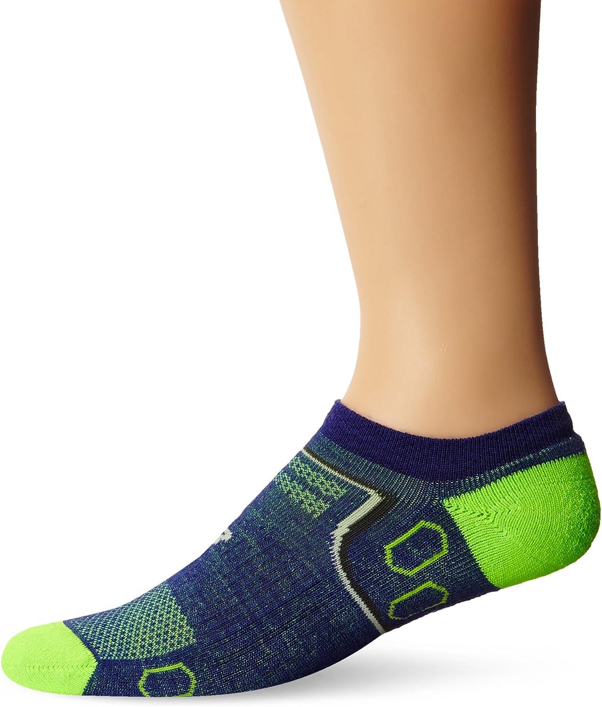 New Balance Unisex 1 Pair Technical Elite Merino Wool Cushion No Show Socks