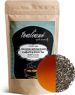 Darjeeling Jungpana Autumn Flush Tea | Exotic Hand Picked Loose Leaf Black Tea | 100% Pure, UNBLENDED Mighty Tea | Single ...