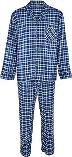 Hanes Men's 100% Cotton Flannel Plaid Pajama Top and Pant...