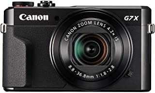 (Renewed) CANON Power Shot G7X Mark II Digital 20.1-Megapixel (Black),Camera with 16GB card + Case Cover