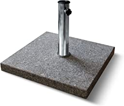 PARAMONDO Pied parasol granit carré