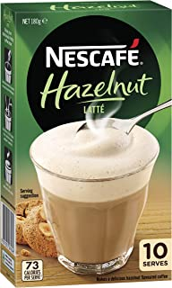 NESCAFÉ Hazelnut Latte Coffee Sachets 10 Pack