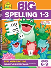 School Zone – Big Spelling Grades 1-3 Workbook – Ages 6 to 9, 1st Grade, 2nd Grade, 3rd Grade, Letter Sounds, Consonants, Vowels, Puzzles, Games, and More (School Zone Big Workbook Series) PDF