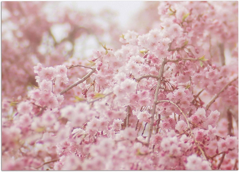 KESS InHouse DO1053ADM02 Debbra Obertanec Spring Pinks Floral Digital Dog Place Mat, 24  x 15