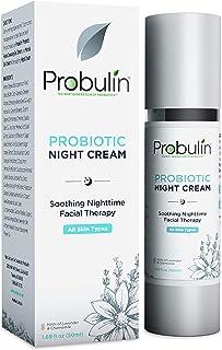 Probulin Probiotic Night Cream, 1.69 fl. oz. (50 ml) Bottle, Probiotic Skin Care, Health Cream, Night Therapy, Marula Oil, Chamomile Cream, Lavender Cream