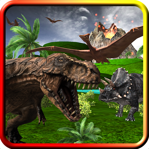 Dinosaur Roar & Rampage! Game For Kids And Toddlers With 3D Prehistoric Monsters, Volcanos, Races,...