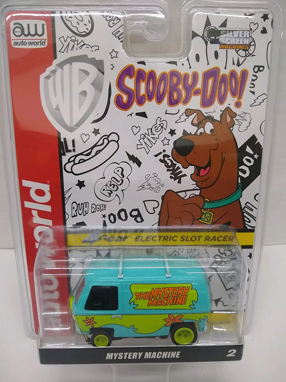 Auto World SC358 Scooby-Doo Dedication Mystery Scale HO Electric 67% OFF of fixed price Sl Machine
