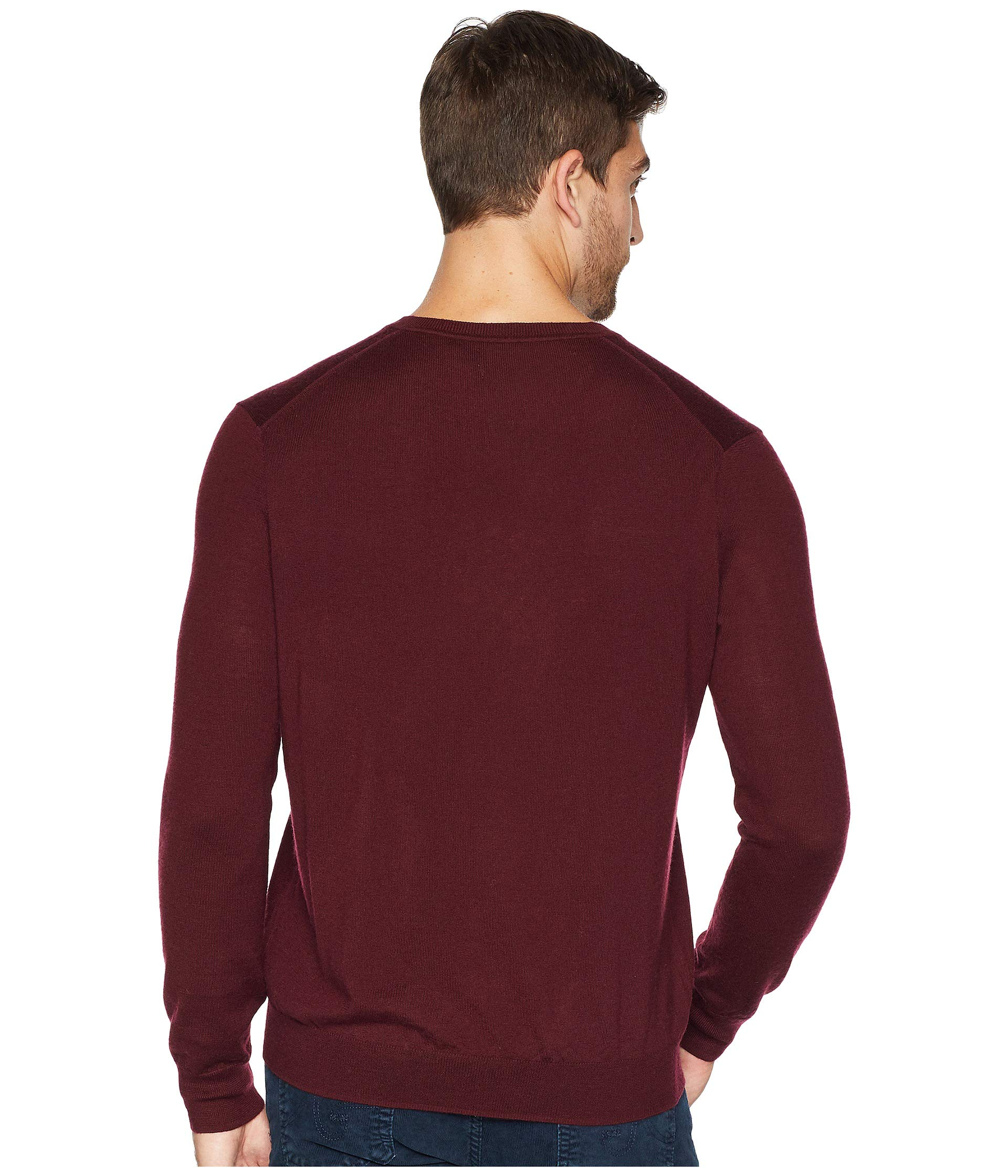 Polo Merino Lauren Wine Washable Ralph Classic Sweater V neck rwHgr6qC