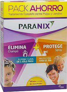 Paranix Pack Champú + Protect. Tratamiento para Piojos y Liendres - Incluye Lendrera - Sin insecticidas - contiene Champú ...