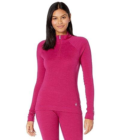 Smartwool Merino 250 Base Layer 1/4 Zip (Very Berry Heather) Women