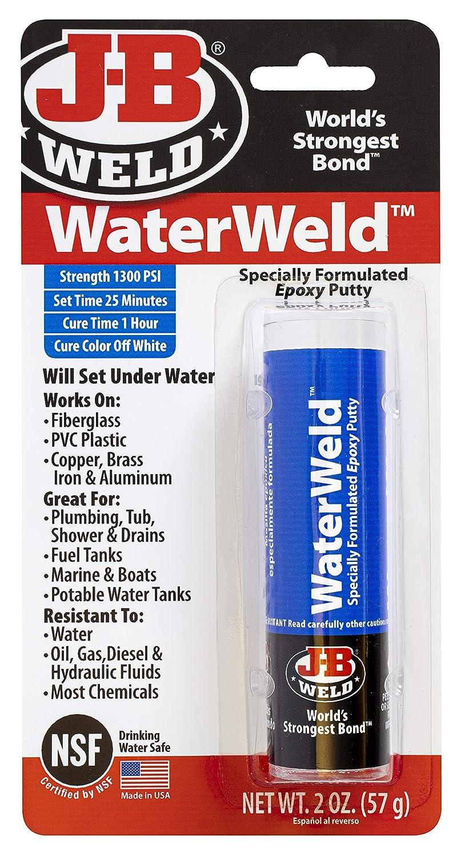 J-B Weld 8277EC WaterWeld Max 66% OFF Epoxy Putty oz. 2 Stick - quality assurance
