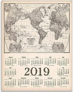 20,000 Leagues Under the Sea Nautilus Submarine 2019 Calendar 11x14 Unframed