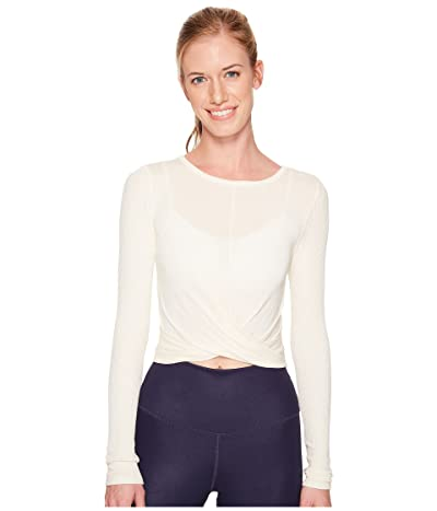 ALO Cover Long Sleeve Top (Pristine) Women