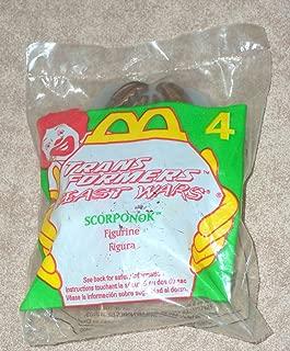 McDonalds - TRANSFORMERS BEAST WARS #4 - SCORPONOK - 1997