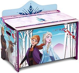 Delta Children Disney Frozen II Deluxe Toy Box for Kids, Piece of 1