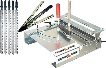 Sierra de calar mesa separador de franela 012l de 3+ Metabo Bosch Festool + 5larga T de Mango de sierra de vaivén para sierra de calar–Mesa, para laminado, parqué Cortes