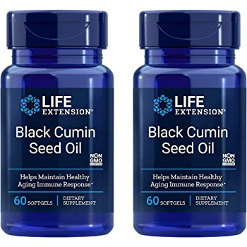 Life Extension Black Cumin Seed Oil, 60 softgels Life Extension (2 pack)