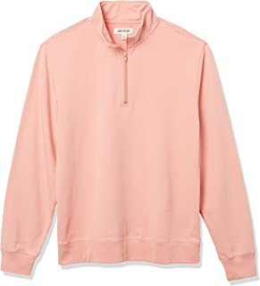 Amazon Brand - Goodthreads Men's Lightweight French Terry Half-Zip Pullover Sweatshirt