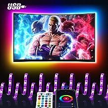 Smart LED Strip 3M, Maxcio USB Alexa TV-achtergrondverlichting LED-strip, compatibel met Alexa Echo, Google Home, WIFI RGB...