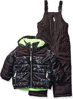 OshKosh B'Gosh Boys' Little Ski Jacket and Snowbib Snowsuit Set