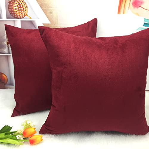 Miraculous Burgundy Throw Pillows Amazon Com Ibusinesslaw Wood Chair Design Ideas Ibusinesslaworg