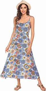 Ekouaer Women's Sleepwear V Neck Nightshirt Cotton Nightgown Half Sleeve Loungewear S-XXL