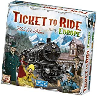 (1, Original Packaging) - Ticket to Ride Europe