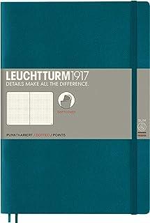 LEUCHTTURM1917 ロイヒトトゥルム ノート B5 ドット方眼 ソフトカバー パシフィックグリーン 359676 正規輸入品