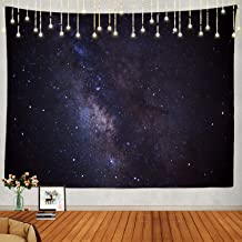 Shrahala Starry Night Tapestry, Starfield Wall Hanging Large Abstract Tapestry Psychedelic Tapestry Aesthetic Decorations ...