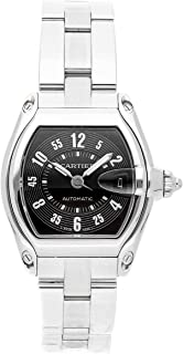 Roadster Mechanical (Automatic) Black Dial Mens Watch W62004V3 (Certified Pre-Owned)