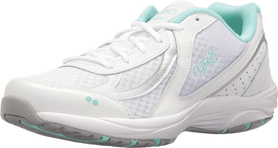 Ryka Wohommes Dash 3 en marchant chaussures, blanc argent Mint, 8.5 M US