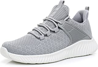 Womens Breathable Jogging Shoes - Lightweight Comfortable Slip-on Sneakers for Walking, Tennis, Gym, Casual Workout, Driving, Running