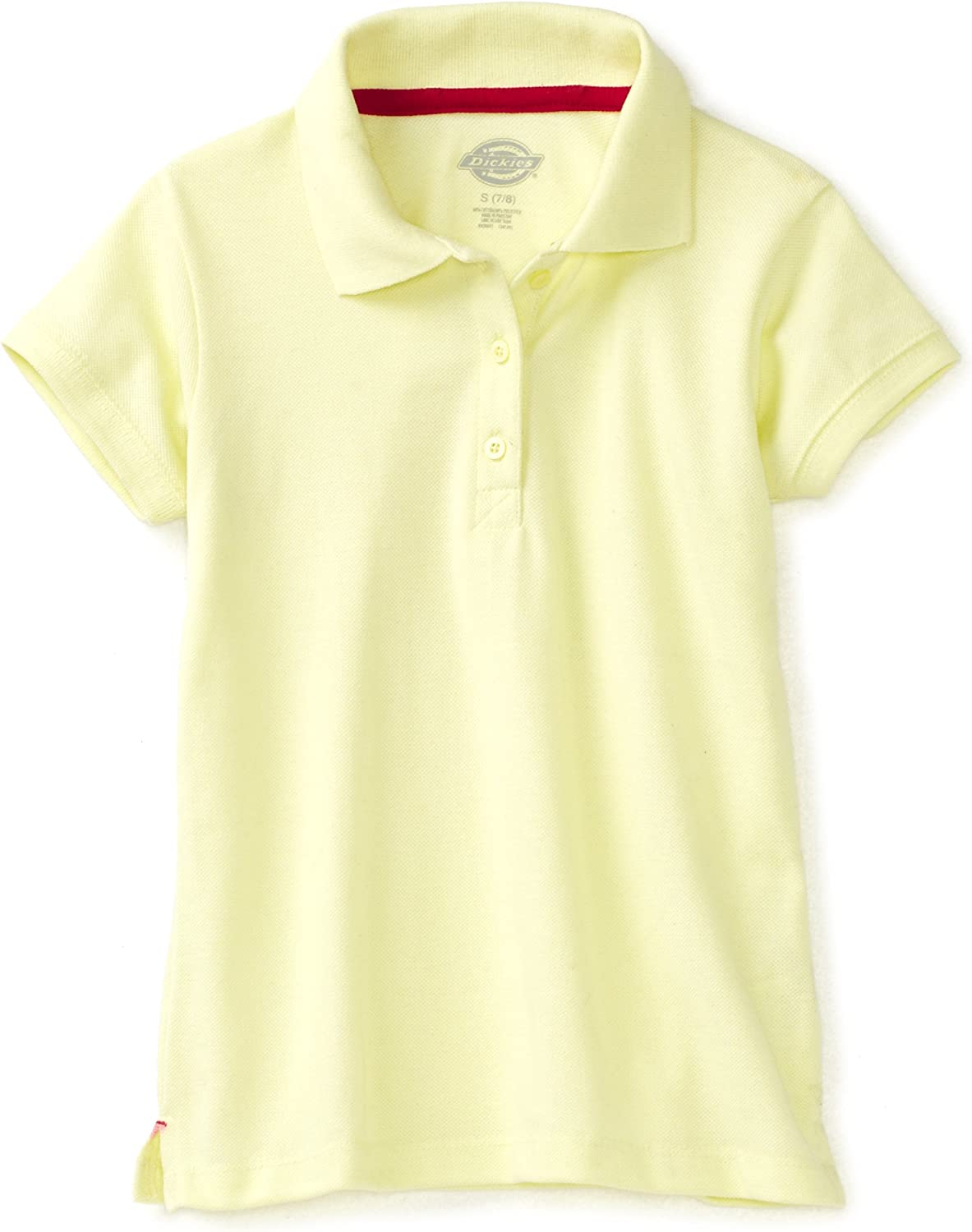 Dickies girls Selling and selling Girls' Short Pique Large-scale sale Polo Sleeve Shirt