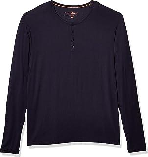 Men's Long-Sleeve Modal Henley Top