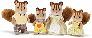 Calico Critters, Hazelnut Chipmunk Family, Dolls, Dollhouse Figures, Collectible Toys, 3 inches