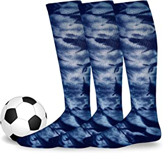 Soxnet Cotton Unisex Soccer Sports Team Socks 3 Pack