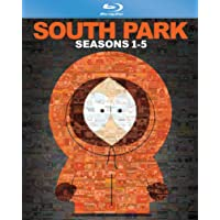 South Park: Seasons 1-5 + Bigger, Longer & Uncut on Blu-ray