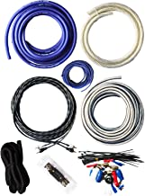 SoundBox Connected 4 Gauge True AWG Amp Kit Amplifier Wiring Complete Install Kit Cables..