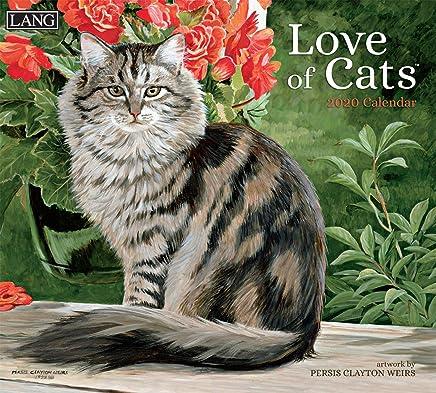 Lang Love of Cats 2020 Wall Calendar (20991001926)