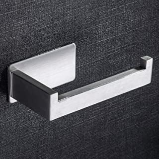Taozun Toilet Paper Holder Self Adhesive Bathroom Roll Holder Stick on Wall SUS 304 Stainless Steel Brushed …