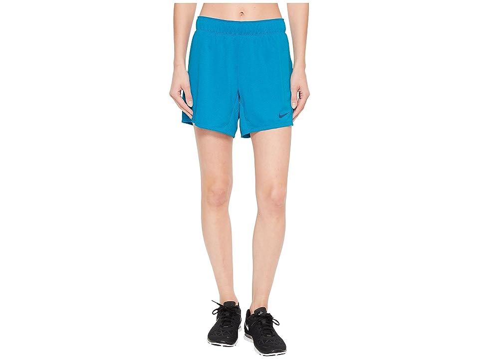 Nike Flex Attack Training Short (Neo Turquoise/Blue Force) Women