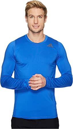 adidas Alphaskin Sport Fitted Long Sleeve Tee