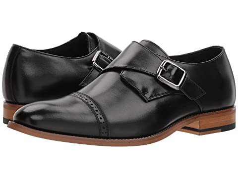 4f8138f6139 Stacy Adams Desmond Cap-Toe Monk-Strap Loafer at Zappos.com
