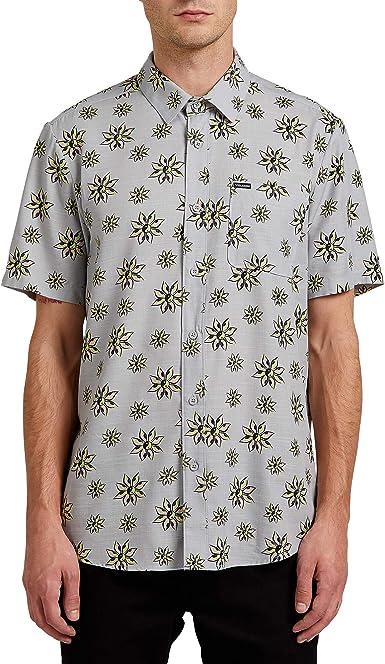 Volcom Burch Bloom S/S Camisa Hombre