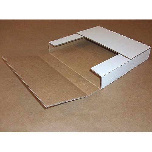 "Box Partners Multi Depth White Bookfold 12 1/8"" x 9 1/8"" x1/2"", 1"", 1 1/2"", 2"" (M2BK)"