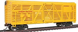 Walthers Trainline HO Scale Model 40' Stock Car with Metal Wheels Union Pacific
