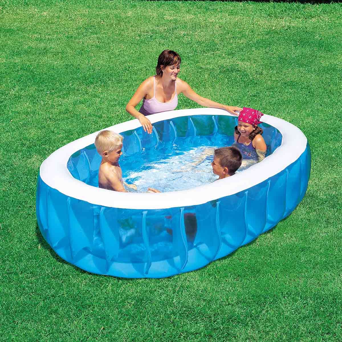 Piscina Hinchable Infantil Bestway Elliptic Pool: Amazon.es: Jardín