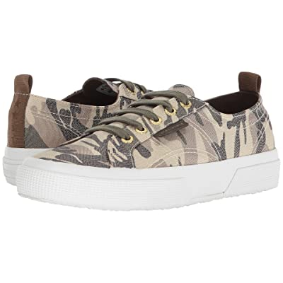 Superga 2750 Lamecamow Sneaker (Camoflage) Women
