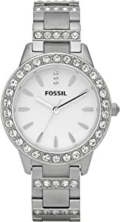 Women's Jesse Stainless Steel Crystal-Accented Dress Quartz Watch