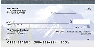 Scenic Scriptures Top Tear Value Priced Personal Checks (2 Boxes of Singles, Qty. 250)